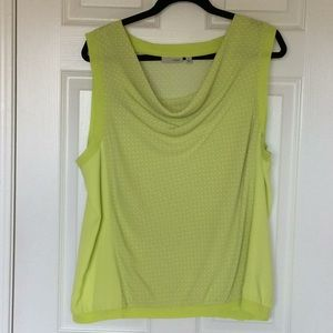 Halogen, XL, top, lime green